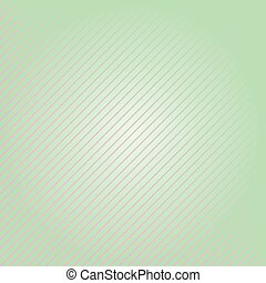 Abstract green background with lines. Vector illustration.