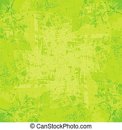 Abstract green background with space for text