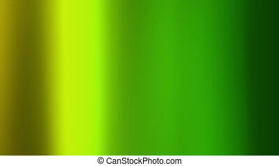 Abstract green background with vertical waves. Wavy animated...