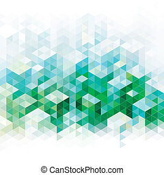 Abstract Green backgrounds. - Abstract geometric green urban...