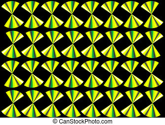 abstract green black background