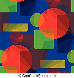abstract green, blue, red pattern background seamless illustration vector art texture wallpaper vintage