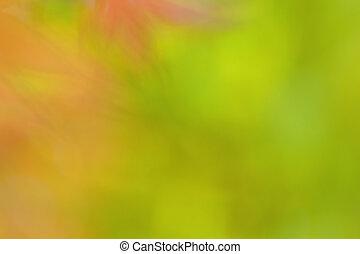 Abstract green bokeh background wallpaper