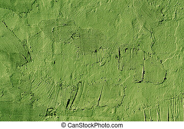 Abstract green cement wall texture.