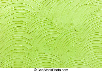 Abstract green cement wall texture background