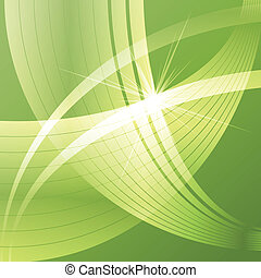 Abstract green ecology background template