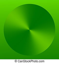 Abstract Green Elegant Technology Button Icon