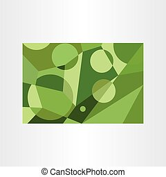 abstract green geometric background vector element