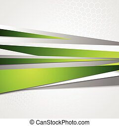 Abstract green grey corporate vector design