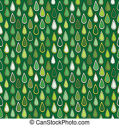 Abstract green leaves seamless background