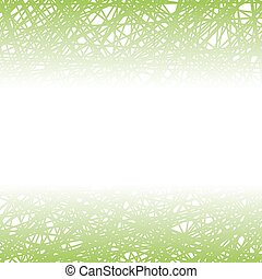 Abstract Green Line Background.