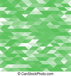 Abstract green lowpoly designed vector background. Polygonal elements backdrop.