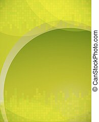abstract green mosaic vertical background