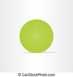 abstract green net globe circle