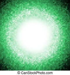 abstract green plasma background