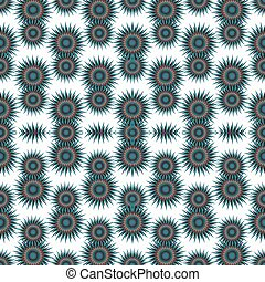 abstract green stars on a white background vector illustration