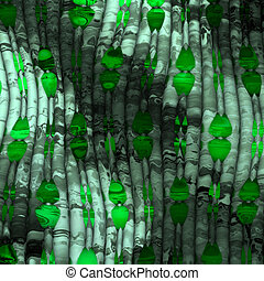 abstract green - abstract imitation of glass and crystal for...