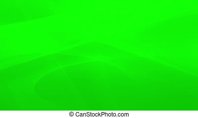 Abstract green swirls in motion