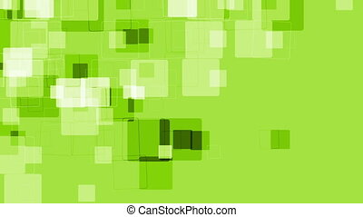 Abstract green tech geometric video animation