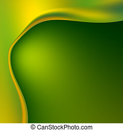 Abstract Green Unusual Background
