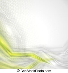 Abstract green vector background - Modern geometrical...