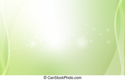The abstract green vector nature eco modern content.