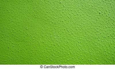 Abstract green wall texture background.