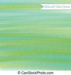 Abstract green watercolor texture