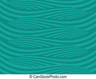 Abstract Green Waves