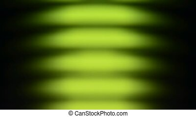 abstract green waves background flows upwards