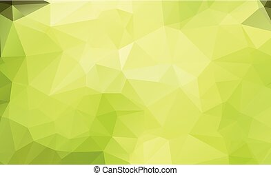 Abstract green which consist of triangles. Geometric...