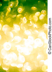 abstract green yellow summer bokeh