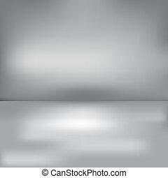 Abstract grey background with a horizont