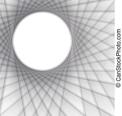 Abstract grey card
