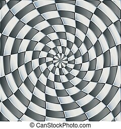 Abstract grey circle background