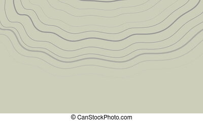 Abstract grey curved lines futuristic video animation