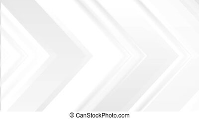 Abstract grey tech arrows minimal video animation - Abstract...