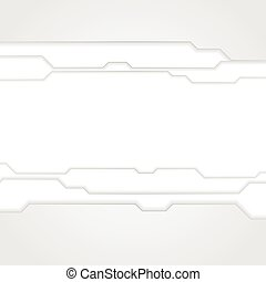 Abstract grey tech background