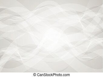 Abstract grey wavy background
