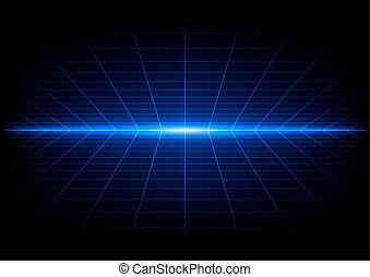 abstract grids on blue light background