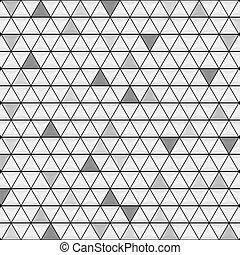 abstract, grijze , textuur, glanzend, achtergrond, driehoeken