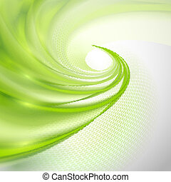 Abstract, groene, achtergrond