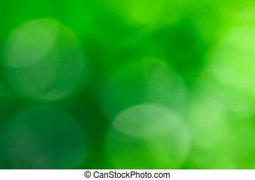 abstract, groene, benevelde achtergrond, natuurlijke , bokeh