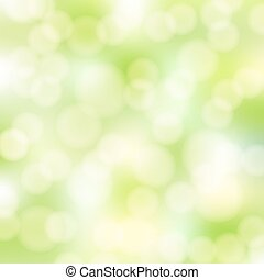 abstract, groene, bokeh, achtergrond