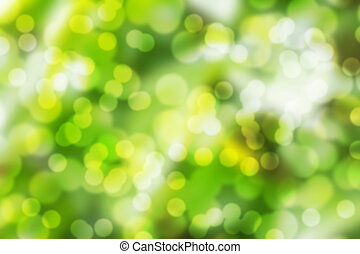 abstract, groene, lente, achtergrond