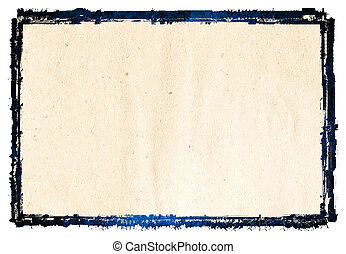 abstract, grunge, achtergrond, frame