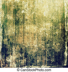 Abstract grunge background. With different color patterns: yellow (beige); brown; green; blue