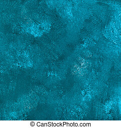 abstract grunge blue stucco wall
