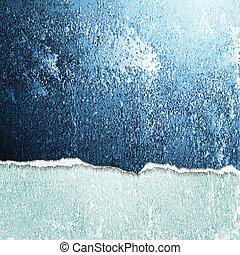 Abstract grunge broken wall