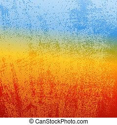 Abstract Grunge - Desert